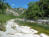 Swim in the Hérault valley